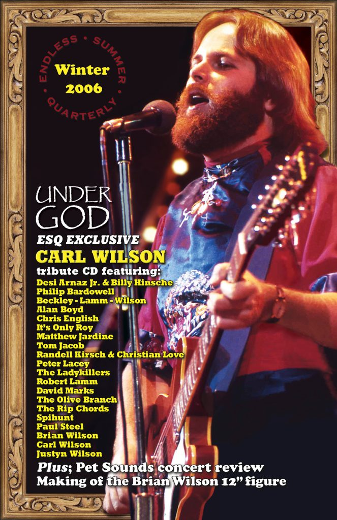 WINTER 2006, Issue #75: CARL WILSON – Under God tribute with collectible CD (Alt. Cover)