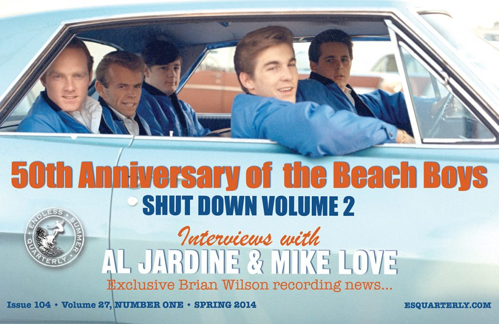 SPRING 2014, Issue #104: THE BEACH BOYS – Shut Down Volume 2