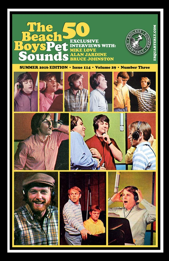 SUMMER 2016, Issue #114: THE BEACH BOYS – Pet Sounds 50th Anniversary