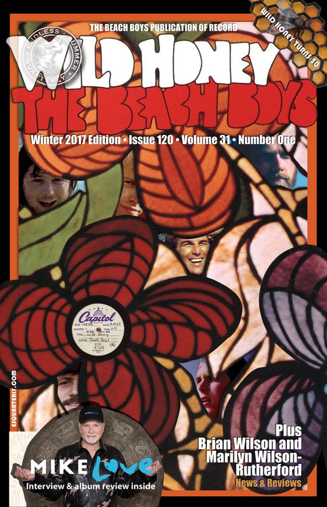 WINTER 2017, Issue #120: THE BEACH BOYS – Wild Honey 50th Anniversary
