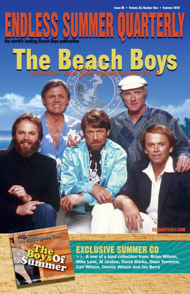 SUMMER 2010, Issue #88: THE BEACH BOYS – Special edition with collectible CD