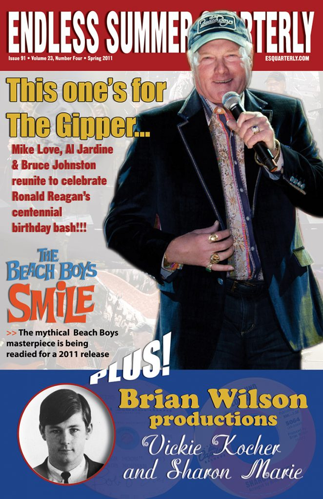 SPRING 2011, Issue #91: THE BEACH BOYS Reunite, Brian Wilson Productions