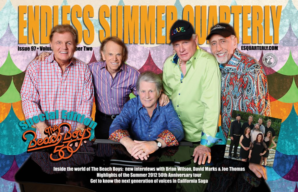 EARLY FALL 2012, Issue #97: THE BEACH BOYS – 50th Tour Special Edition