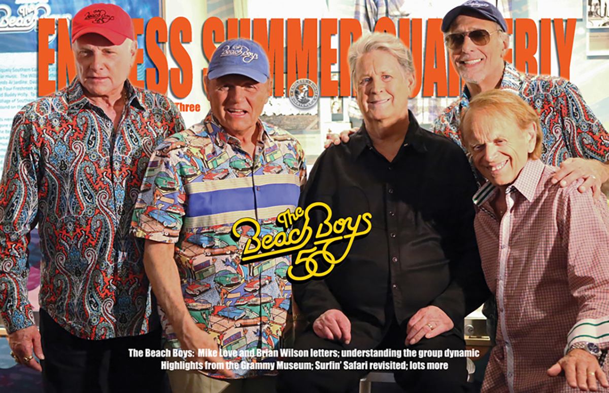 Fall 2017 Issue 98 The Beach Boys 50th Grammy Museum Performance
