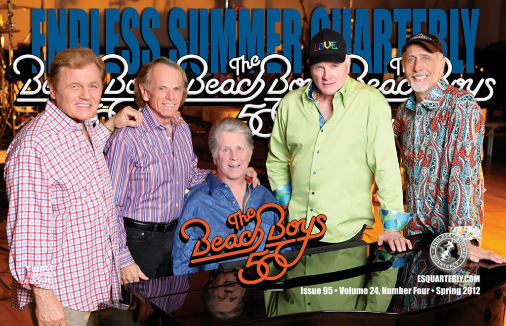 SPRING 2012, Issue #95: THE BEACH BOYS – 50th Reunion