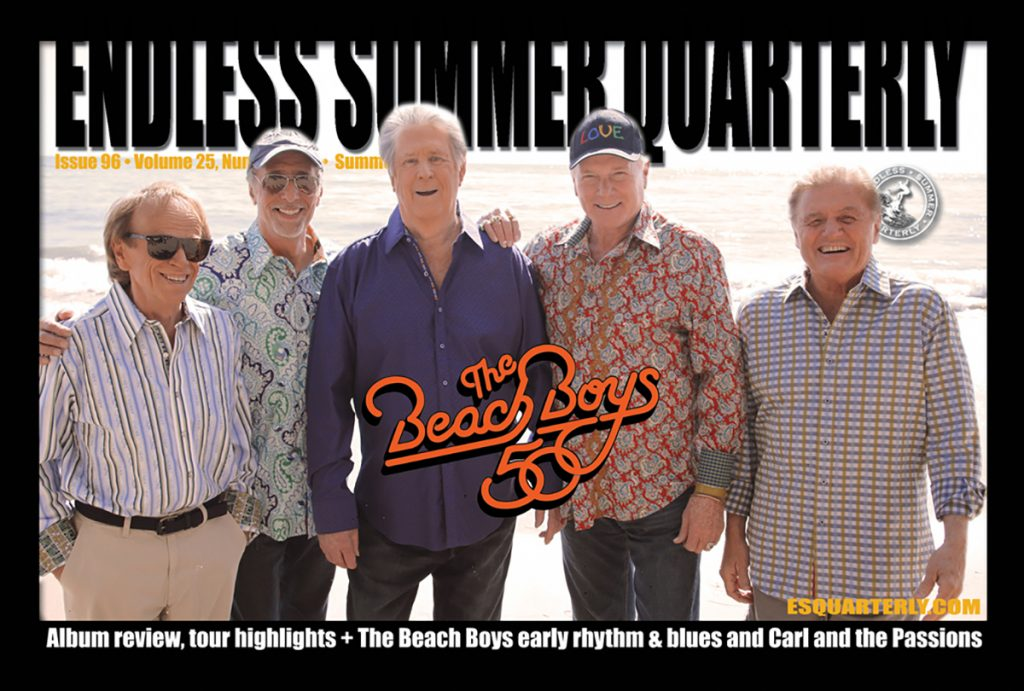 SUMMER 2012, Issue #96: THE BEACH BOYS – That's Why God Made The Radio