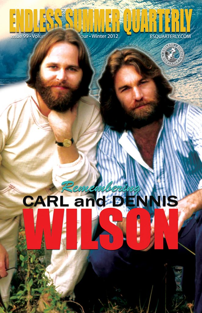 WINTER 2012, Issue #99: THE BEACH BOYS – Carl and Dennis Wilson