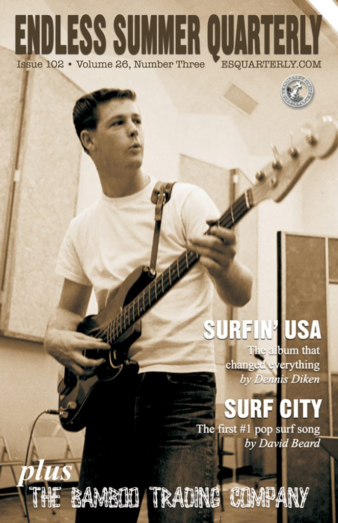 FALL 2013, Issue #102: THE BEACH BOYS – Surfin' USA