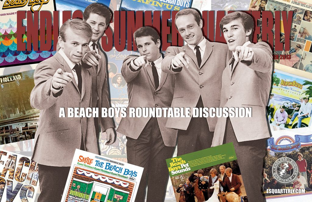 SUMMER 2013, Issue #101: THE BEACH BOYS – Roundtable Discussion