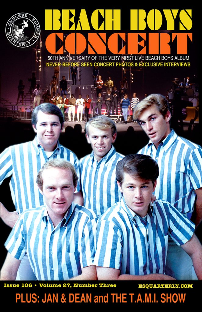 FALL 2014, Issue #106: THE BEACH BOYS – Concert Album and The T.A.M.I. Show