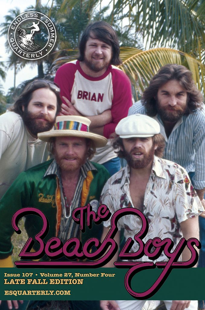 LATE FALL 2014, Issue #107: THE BEACH BOYS – Concert memories
