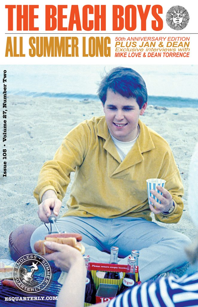 SUMMER 2014, Issue #105: THE BEACH BOYS – All Summer Long