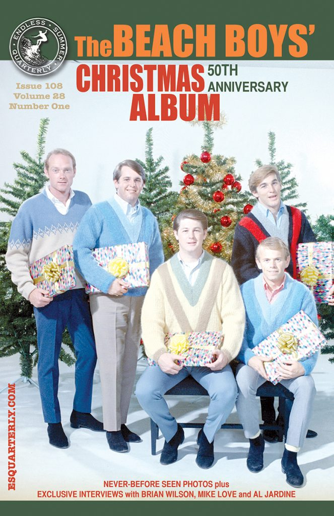 WINTER 2014, Issue #108: THE BEACH BOYS – Christmas Album