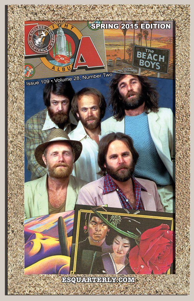 SPRING 2015, Issue #109: THE BEACH BOYS' – L.A. (Light Album)