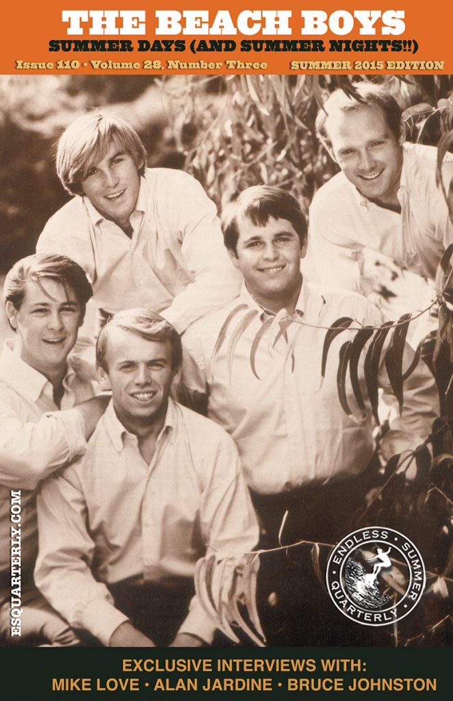 SUMMER 2015, Issue #110: THE BEACH BOYS – Summer Days (And Summer Nights!!) 50th Anniversary