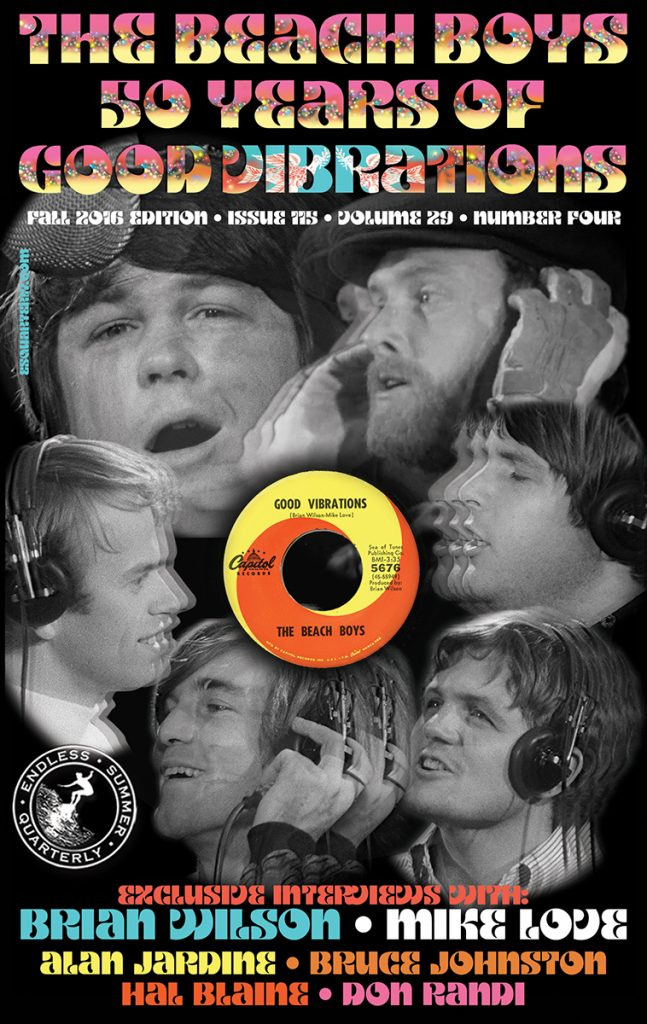 FALL 2016, Issue #115: THE BEACH BOYS – Good Vibrations 50th Anniversary