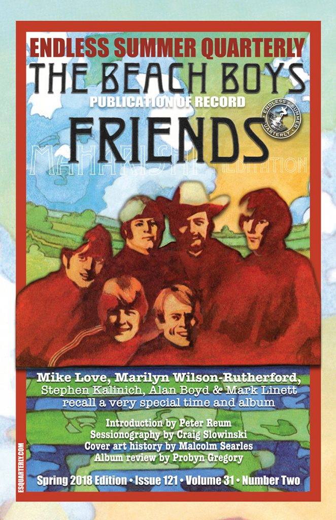 SPRING 2018, Issue #121: THE BEACH BOYS – Friends 50th Anniversary