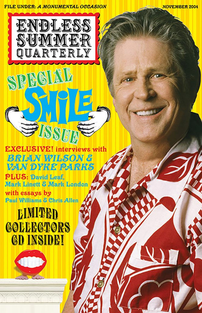 WINTER 2004, Issue #67: BRIAN WILSON – Presents SMiLE with collectible CD