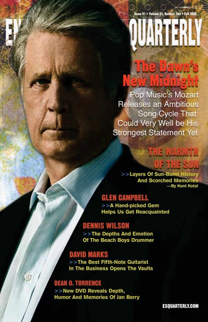 FALL 2008, Issue #81: BRIAN WILSON – That Lucky Old Sun