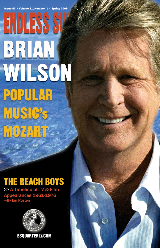 SPRING 2009, Issue #83: THE BEACH BOYS – TV & film appearances from 1961-1976