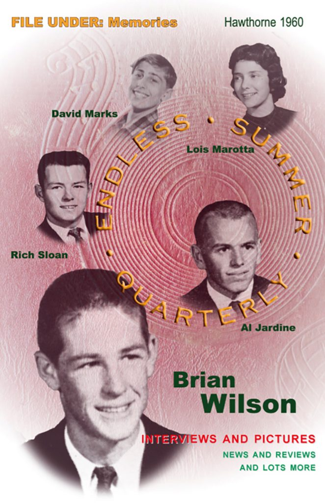 FALL-WINTER 2005, Issue #71: THE BEACH BOYS – Hawthorne 1960