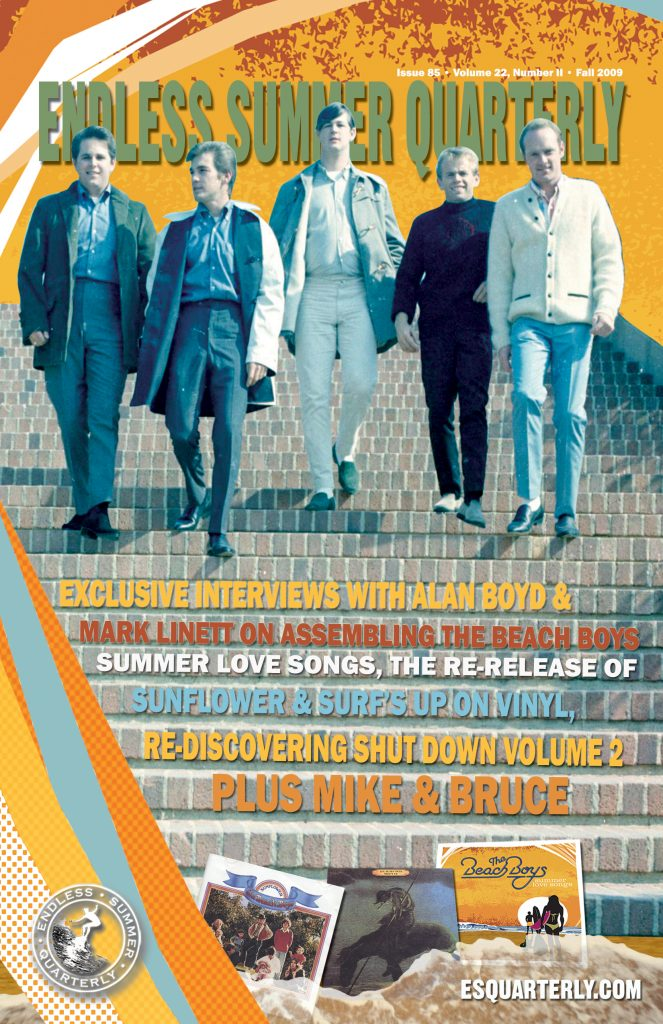 FALL 2009, Issue #85: THE BEACH BOYS – Summer Love Songs and Shut Down Volume 2 in stereo (Alt. Cover)