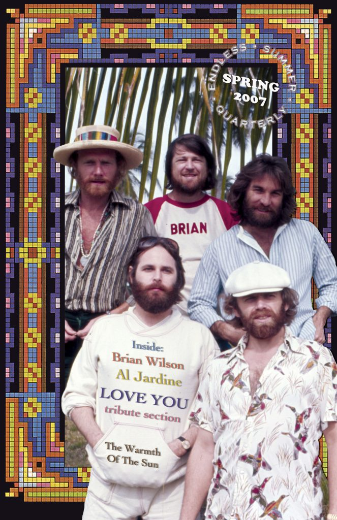 SPRING 2007, Issue #76: THE BEACH BOYS – Love You