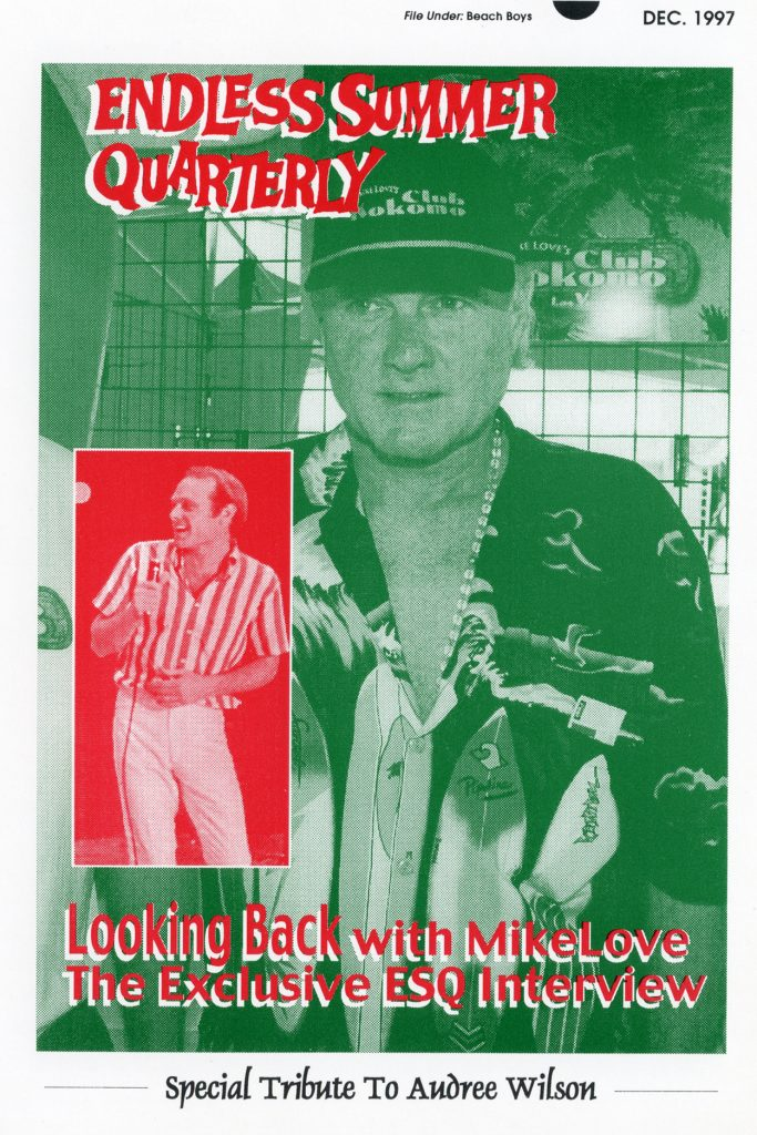 WINTER 1997, Issue #41: MIKE LOVE, AUDREE WILSON tribute