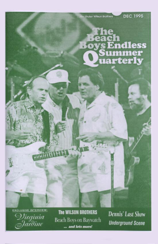 WINTER 1995, Issue #33: VIRGINIA JARDINE, THE BEACH BOYS on Baywatch