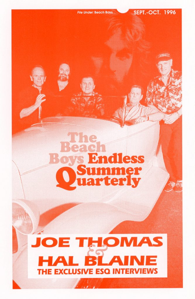 FALL 1996, Issue #36: JOE THOMAS and HAL BLAINE interviews