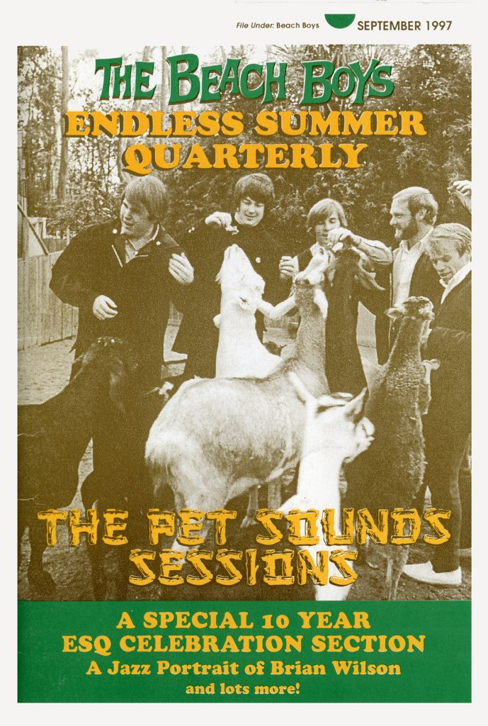 FALL 1997, Issue #40: THE BEACH BOYS – Pet Sounds Sessions