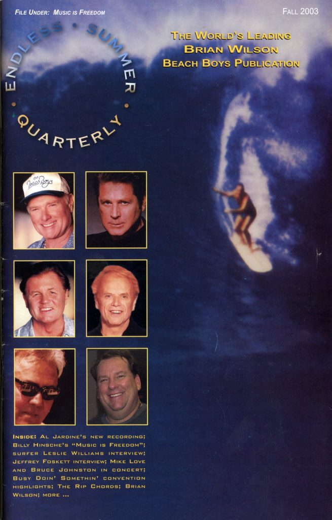 FALL 2003, Issue #63: TRACKING AL JARDINE, SURFER LESLIE WILLIAMS, JEFFREY FOSKETT, RICH ROTKIN