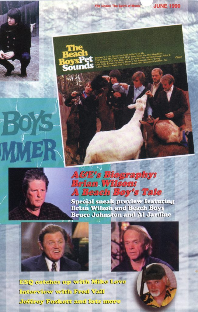 SUMMER 1999, Issue #47: BRIAN WILSON – A Beach Boy's Tale, A&E Biography