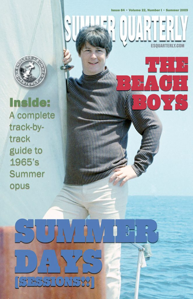 SUMMER 2009, Issue #84: THE BEACH BOYS – Summer Days (And Summer Nights!!) (Alt. Cover)