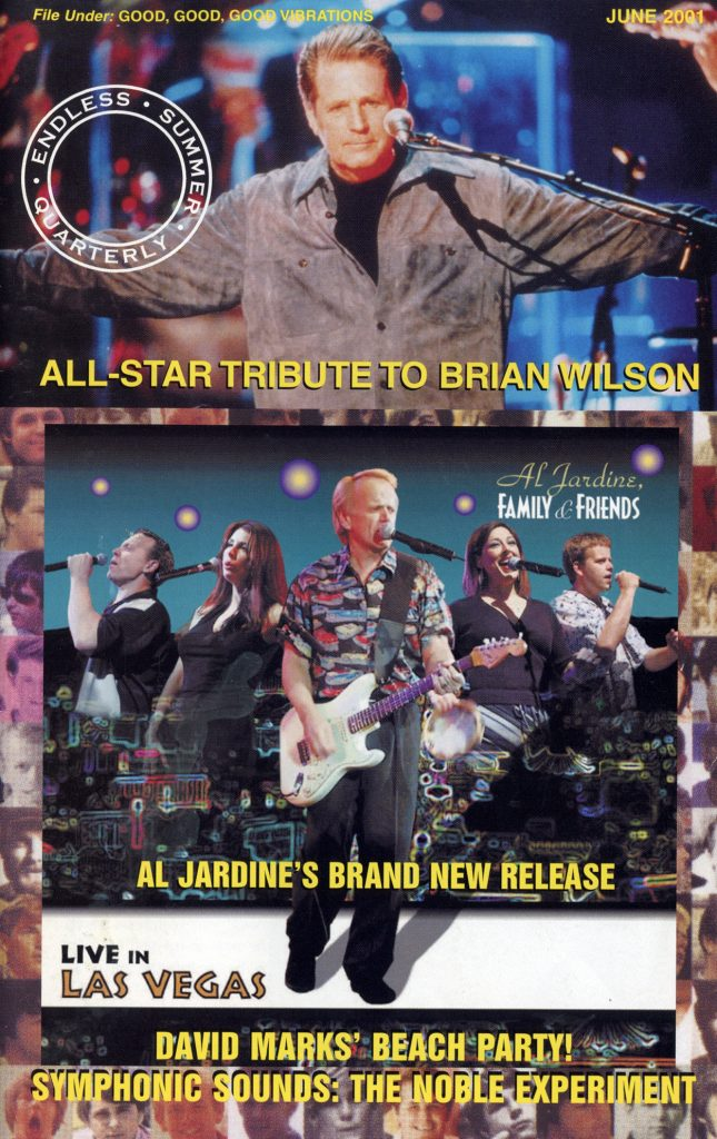 SUMMER 2001, Issue #55: BRIAN WILSON – All-Star Tribute, AL JARDINE – Family & Friends