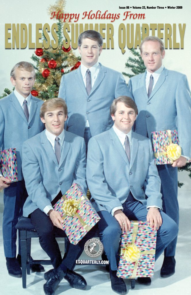 WINTER 2009, Issue #86: THE BEACH BOYS – Today! session outtakes