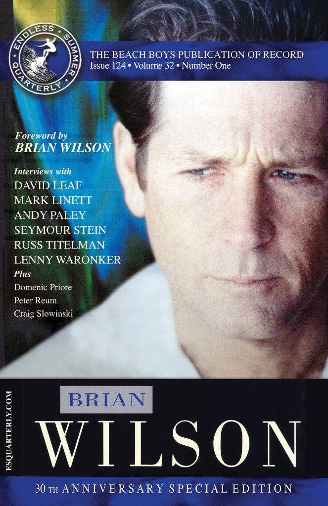 WINTER 2018, Issue #124: BRIAN WILSON – 1988 solo album