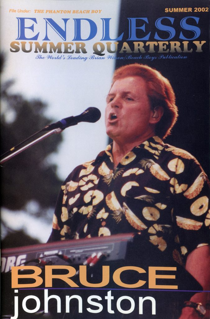 SUMMER 2002, Issue #59: BRUCE JOHNSTON (Alt. Cover)